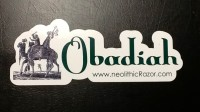 Obadiah bumper sticker